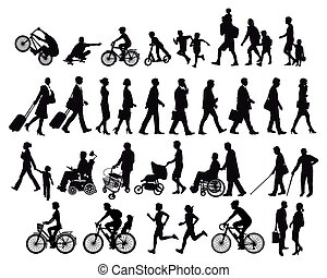 activiteiten, verhuizen, mensen