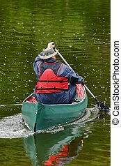 Activities 9 - Kayaking man