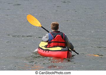 Activities - canoeing man