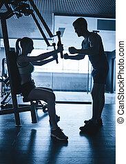 Activities in gym