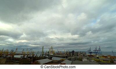 activity., commerce, port, mer