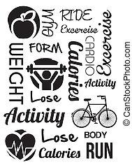 activity design over white background vector illustration