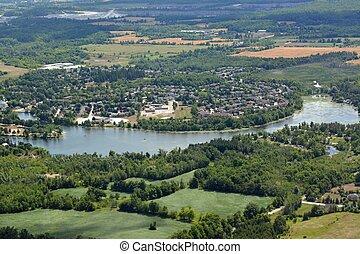 Acton Ontario, aerial