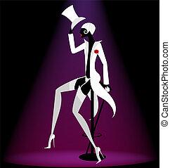 actor, cabaret