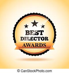 Actors awards design