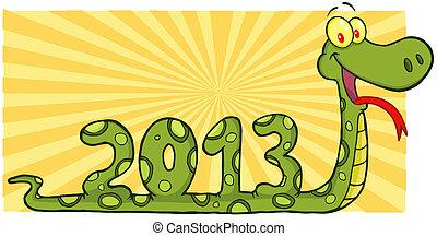 actuación, serpiente,  2013, números