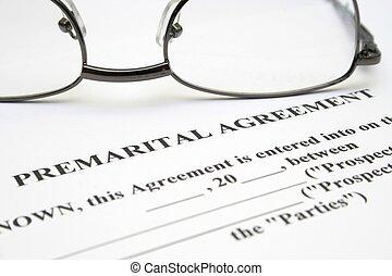 acuerdo, premarital