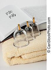 Acupuncture flasks Treatment