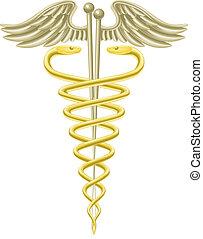 acupuncture naalden, caduceus