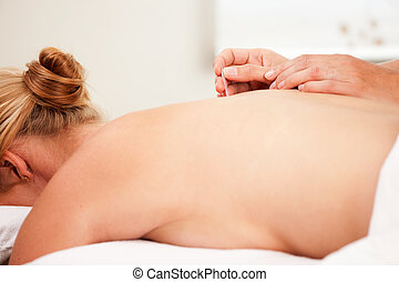 Acupuncture on Shu Points