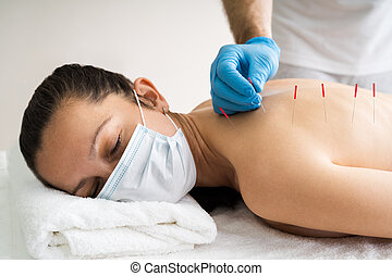 Acupuncture Skin Treatment For Women