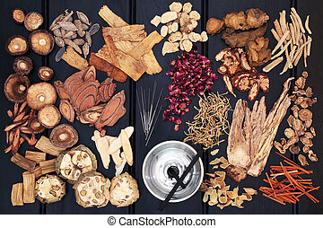 Acupuncture Therapy and Chinese Herbs