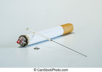 acupuntura, fumar, parada