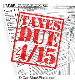 adót kiszab, idő