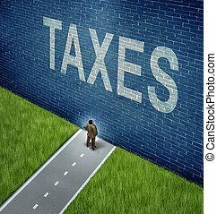 adót kiszab, probléma