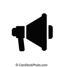 ad glyph flat icon