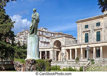 Adam and palace museum corfu - General Sir Frederick Adam's...