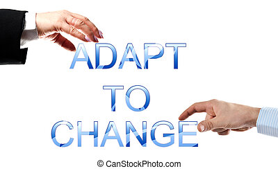 Adapt to change words