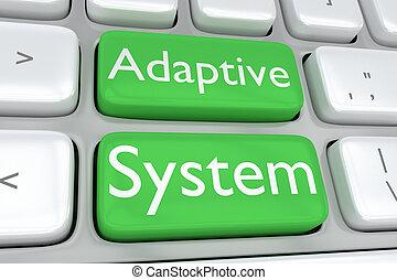 adaptatif, concept, système