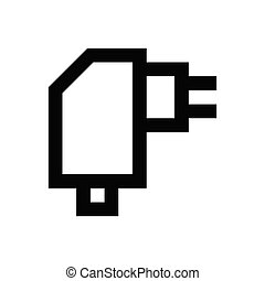 adapter   pixel perfect icon