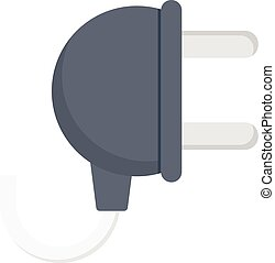 adapter vector colour flat icon