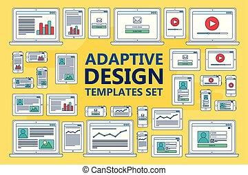 Adaptive Web Templates