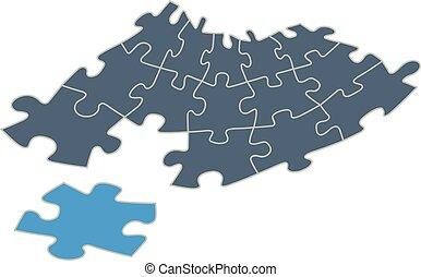 adattare, jigsaw