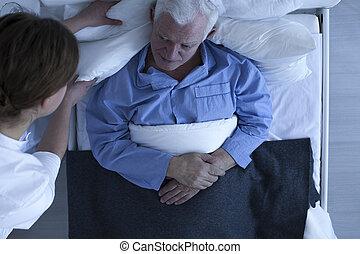 adatto, conforto, prendersi cura