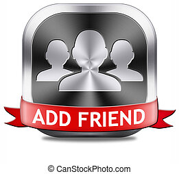 add friend button - Add friend button join online community...