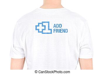 Add Friend Concept