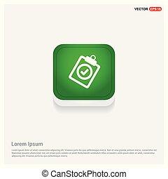 Add plus icon Green Web Button