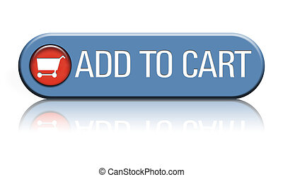 Add to cart button - A ecommerce web button that says add to...