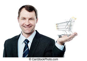 Add to cart, e-commerce concept