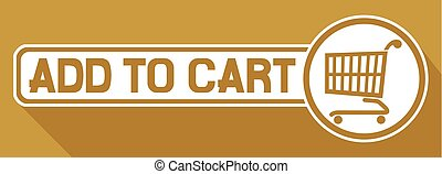 add to cart flat icon