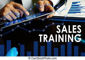 addestramento, concept., vendite