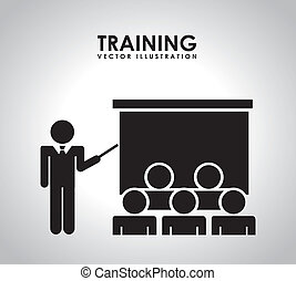 addestramento, disegno