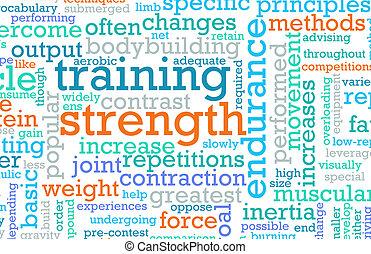 addestramento, forza