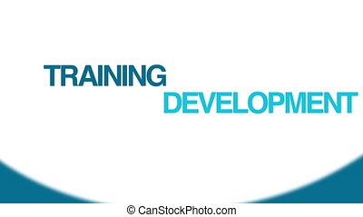 addestramento, &, sviluppo
