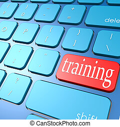 addestramento, tastiera