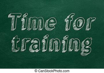 addestramento, tempo