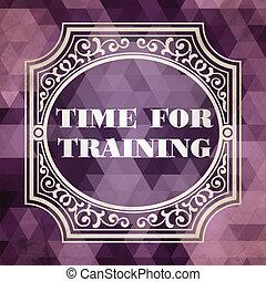 addestramento, viola, vendemmia, concept., tempo, design.
