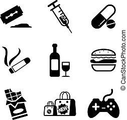 Addiction Icons