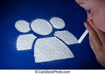 Addiction to the social networking phenomenon
