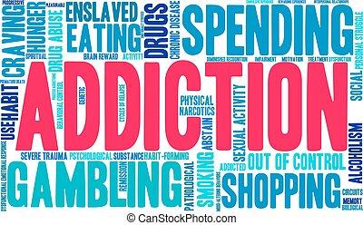 Addiction Word Cloud