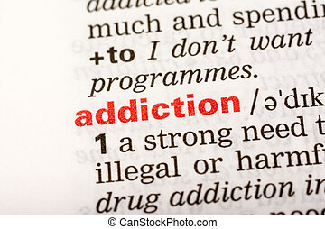Addiction Word Definition