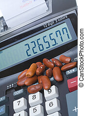 Adding Machine Kidney Beans, Accounting Counting