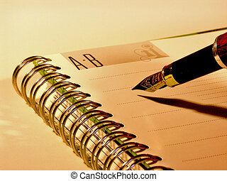 Address book page