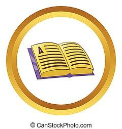 Address book vector icon
