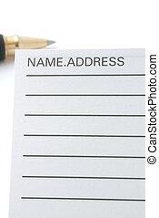 Address & Phone Book #9