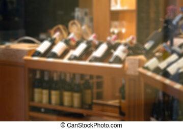 adega, restaurante, defocus, gabinete, luxo, vinho